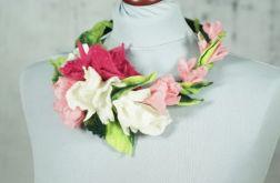 Naszyjnik z ficu Kwiat Wiśni