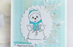 Białe Święta z bałwankiem KBN121