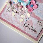 Dla Ciebie: kartka w pastelach
