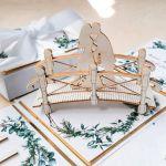 Kartki ślubne Exploding box ślubny #0003 - kartka ślubna z imionami