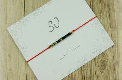 30 Bransoletka Lucky number Morse Code