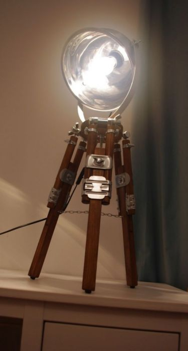 Lampka biurkowa, Lampka nocna LOFT TRIPOD -