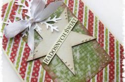 Kartka świąteczna z gwiazdą