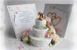 Ślubny box z tortem #1