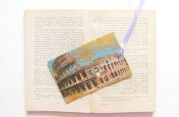 Vintage zakładka do książki - Rzym 3