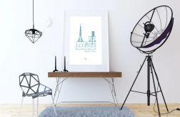"""Plakat """"Minuit a Paris"""""""