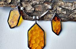 Komplet biżuterii Plaster miodu