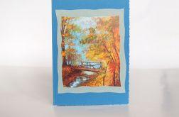 Kartka uniwersalna jesienny pejzaż 3