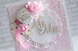 Ślubnie w różu