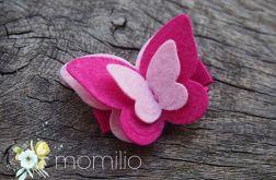 Motyl spinka do włosów 21