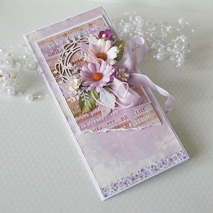 Romantyczna z bukietem kwiatów v.3 - wrzo1a