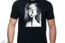 Szkic - t-shirt męski