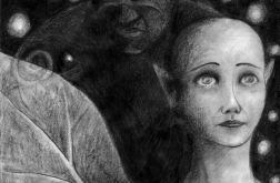 Skrzydła - oryginalny rysunek 0103