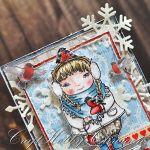 Zimowe życzenia - Zimowe życzenia - detal