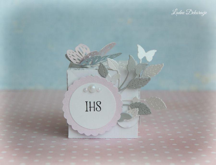 Pudełeczka z motylem podziękowanie #2