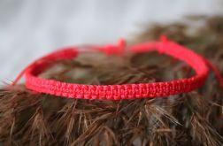 Czerwona bransoletka Relva