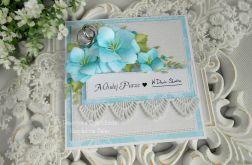 Ślubna kartka w pudełku 37