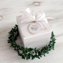 Pudełko - exploding box - Komunia Święta