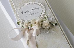 Kartka ślubna w pudełku DL -v.12