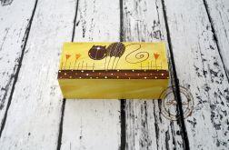 pudełko z trzema przegródkami