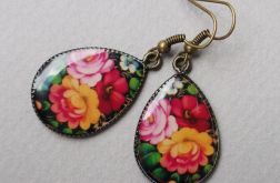 Rose garden (earrings)