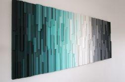 """Mozaika drewniana """"AT"""""""