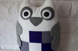 SOWA poduszka z kieszonką (patchwork)
