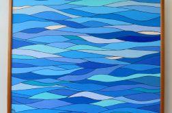 """Obraz """"Kolory mórz południowych"""""""