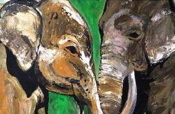 słoniowa miłość