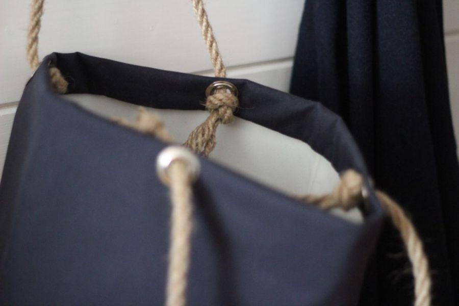 Bawełniana torba z kotwicą