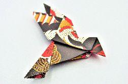 Magnes na lodówkę origami ptaszek żurawie