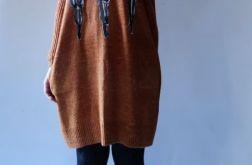 Sukienka oversize z kieszeniami 08
