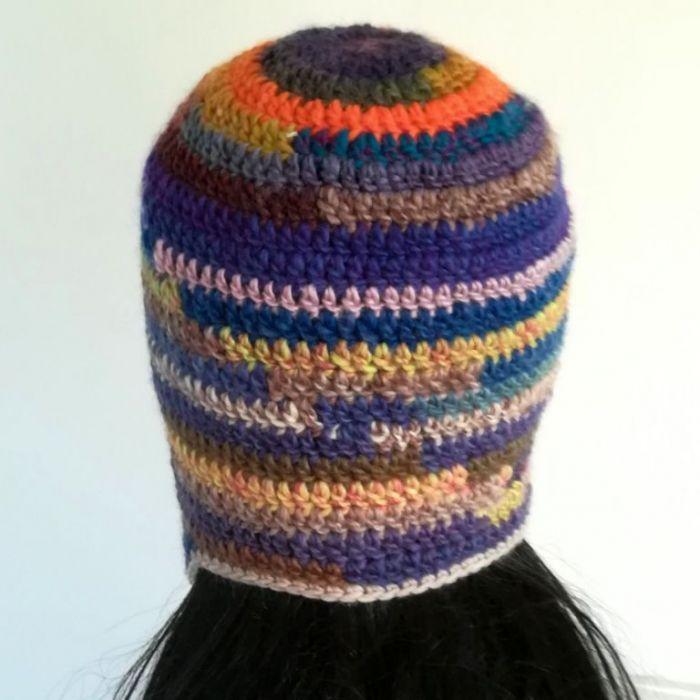 Czapka zimowa tęcza energetyczna - czapka zimowa kolorowa