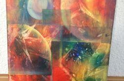 Obraz abstrakcja 30x40