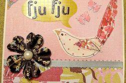 Kartka okolicznościowa Fju fju