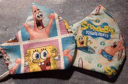 Maseczki bawełniane SpongeBob