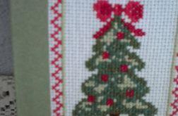 Choinka - kartka bożonarodzeniowa