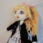 Cotton doll, miękka lalka, bawełniana lala