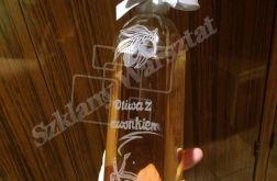 Ręcznie grawerowane butelki 0,5L