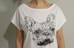 Buldożek - koszulka damska