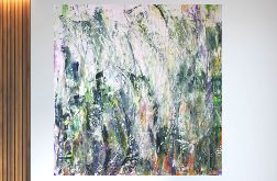 Obraz ręcznie malowany abstrakcja