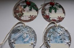 Zawieszki świąteczne do prezentów