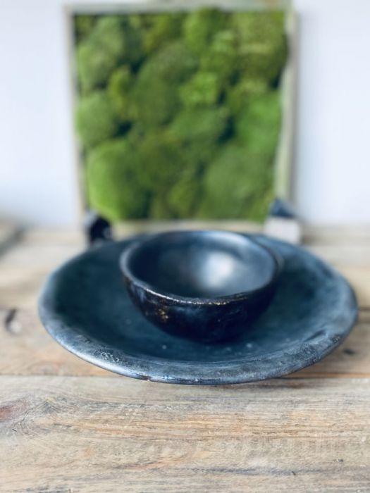 Zestaw ceramiczny PLAMA OLEJU