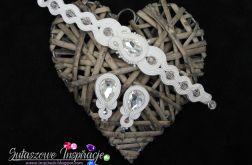 Delikatna biżuteria ślubna sutasz