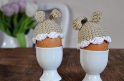 Szydełkowe ocieplacze na jajka 2szt