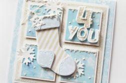 Zimowa kartka Dla Ciebie