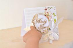 Kartka ślubna -pamiątka ślubu