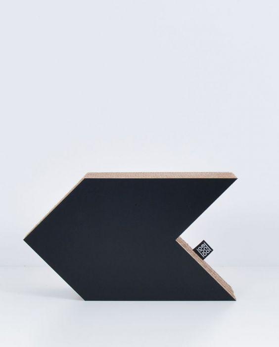 STRZAŁKA dekoracja ecoono | czarny