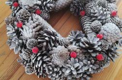 Stroik Wianek Świąteczny Zima Święta