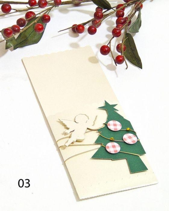Etui na sztućce Boże Narodzenie - aniołek -